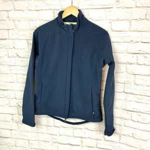 Callaway Golf Blue Shell Jacket Size Medium
